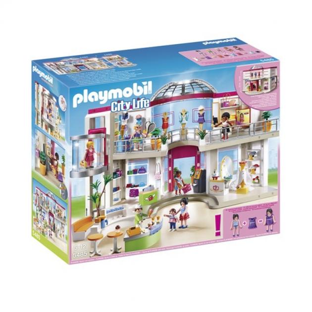 Playmobil серия торговый центр Мебилироанный торговый центр 5485pm